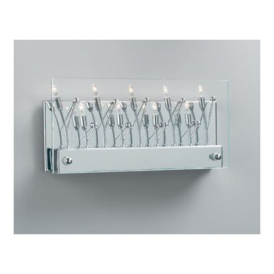 PLC Lighting Lief 9 Light Wall Sconce