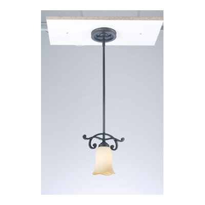 PLC Lighting Passion 1 Light Mini Pendant