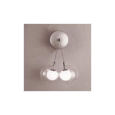 PLC Lighting Hydrogen  2 Light Wall Sconce