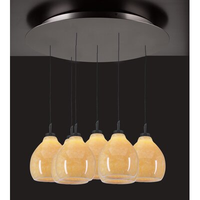 PLC Lighting Mango 7 Light Mini Pendant