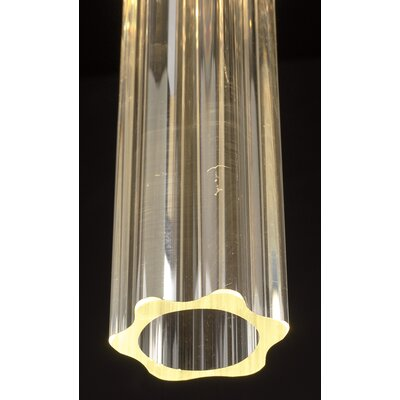 PLC Lighting Segretto 1 Light Mini Pendant