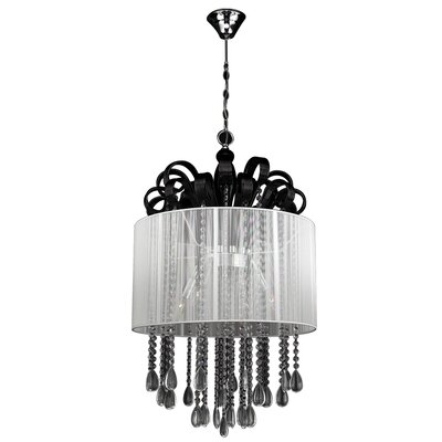 PLC Lighting Sophi 5 Light Crystal Chandelier