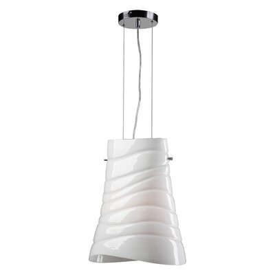 PLC Lighting Mandy 1 Light Pendant