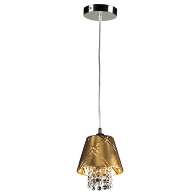 PLC Lighting Nikko 1 Light Mini Pendant