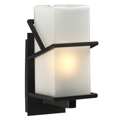 PLC Lighting Oxford 1 Light Outdoor Wall Sconce