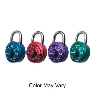 Master Lock Company Master Lock Assorted Numeric Combination Locks, Assorted
