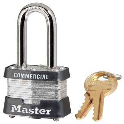 No. 3 Long Shackle Laminated Security Padlock
