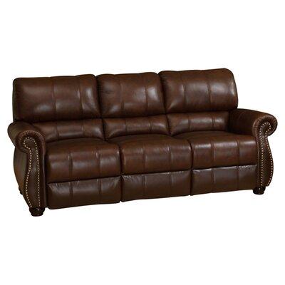 abbyson living houston leather sofa reviews wayfair