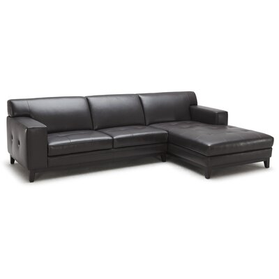 Encore Leather Sectional Sofa
