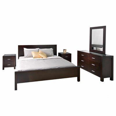 Abbyson Living Azara Panel 5 Piece Bedroom Collection