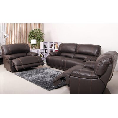Asper Premium Reclining Sofa and 2 Arm Chairs