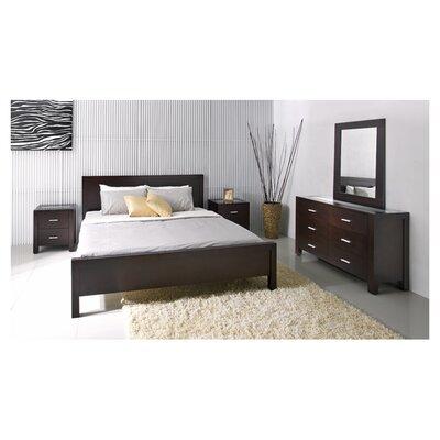 Abbyson Living Azara 6 Drawer Dresser and Mirror Set