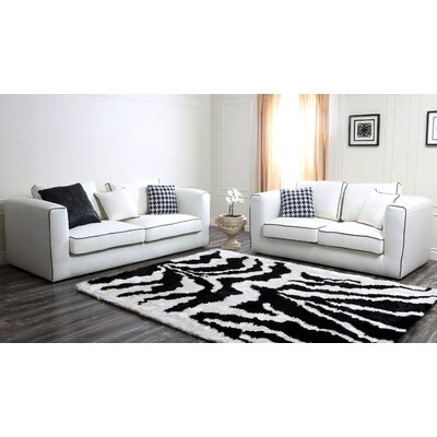 Abbyson Living Ferrara Italian Sofa and Loveseat Set