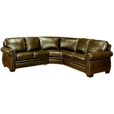 Abbyson Living Empire Leather Sectional
