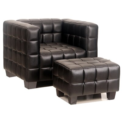 Avenue Six Chair and Ottoman