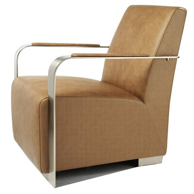 Bellini Modern Living Ariana Leather Arm Chair