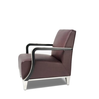 Bellini Modern Living Marbella Leather Lounge Chair