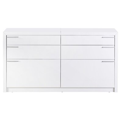 Bellini Modern Living Venezia 6 Drawer Dresser