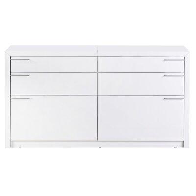 Bellini Modern Living Venezia 6 Drawer Dresser