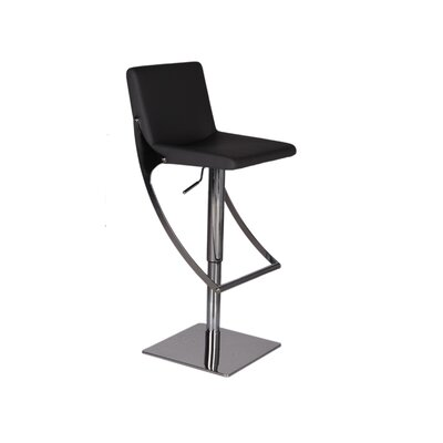 Bellini Modern Living Sonic Adjustable Swivel Barstool