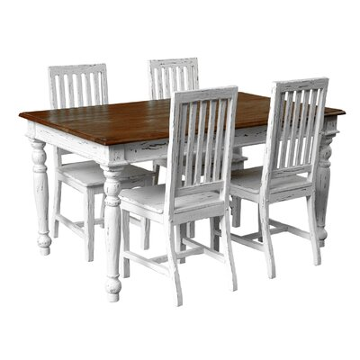 Casual Elements Suffolk 5 Piece Dining Set