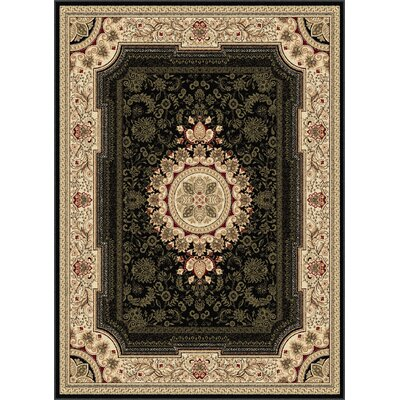 Sensation Black/Beige Rug