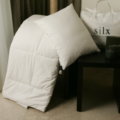 Silk-Filled Comforter with Cotton Cover
