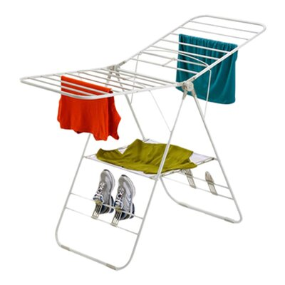 <strong>Honey Can Do</strong> Heavy-Duty Gullwing Drying Rack in White