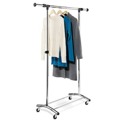 Garment Rack in Chrome