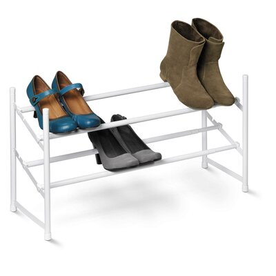 Honey Can Do 2 Tier Expandable Shoe Rack