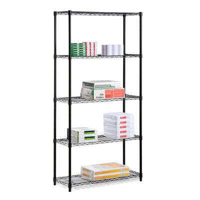 "Honey Can Do Urban 72"" H 5 Shelf Shelving Unit Starter"
