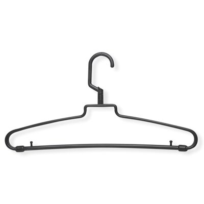Honey Can Do 72 Pack Hotel Style Hanger in Brown