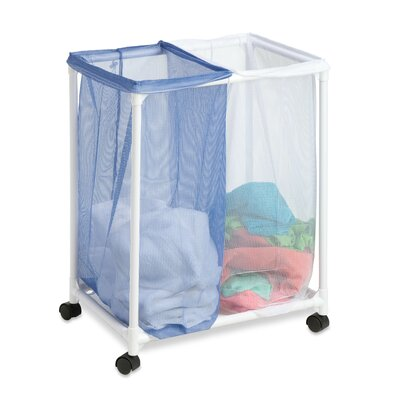 Honey Can Do 2 Bag Mesh Hamper