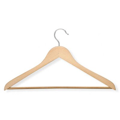 Wood Suit Hanger in Maple (10 Pack)