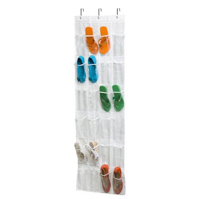 24 Pocket Shoe Rack