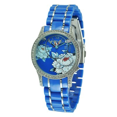 Ed Hardy Women's Jasmine Watch in Blue