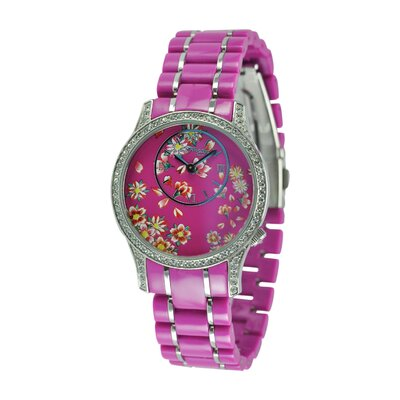 Ed Hardy Women's Jasmine Watch in Pink