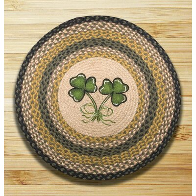 Earth Rugs Shamrock Novelty Rug