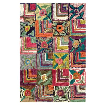 <strong>Dash and Albert Rugs</strong> Hooked Gypsy Rose Rug
