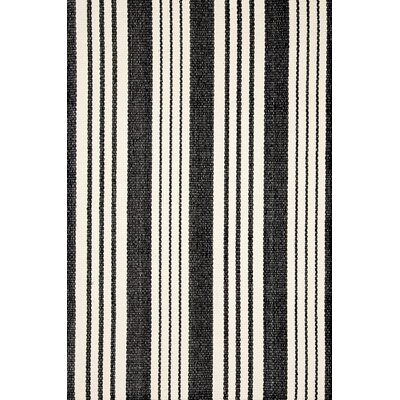 Dash and Albert Rugs Woven Birmingham Black Rug