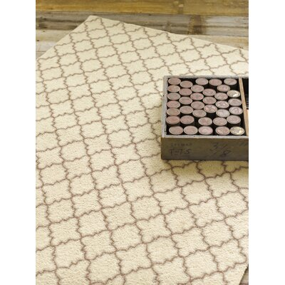 Dash and Albert Rugs Hooked Plain Tin Ivory Rug