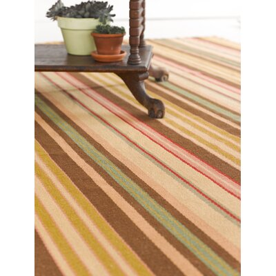 Dash and Albert Rugs Woven Siena Stripe Rug