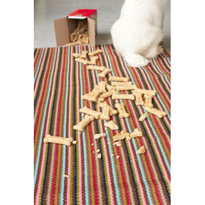Dash and Albert Rugs Daisy Woven Kitchen Sink Indoor/Outdoor Rug