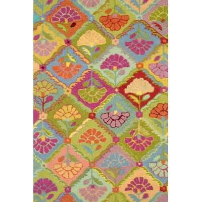 Dash and Albert Rugs Hooked Field of Flowers Rug