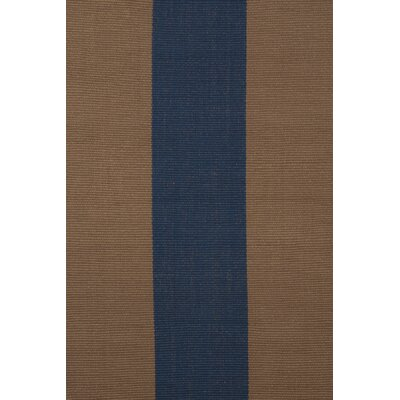 Dash and Albert Rugs Woven Yacht Navy Stripe Rug
