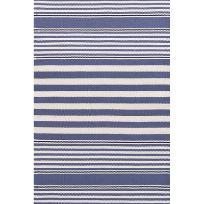 Dash and Albert Rugs Indoor/Outdoor Beckham Denim Striped Rug