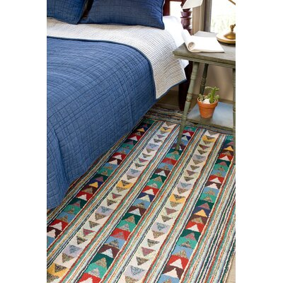 Dash and Albert Rugs Cotton Hooked Follow the Arrows Rug