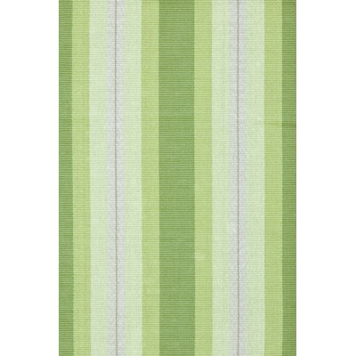Dash and Albert Rugs Woven Cotton Thyme Ticking Rug