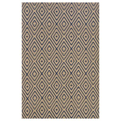 Dash and Albert Rugs Woven Diamond Brown/Khaki Rug
