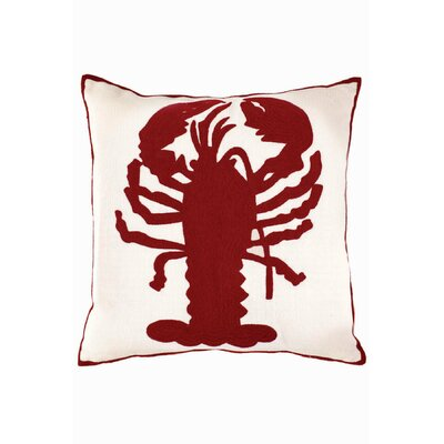 Dash and Albert Rugs Fresh American Lobster Polypropylene Pillow
